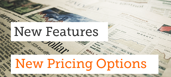 Features, Pricing Upgrade