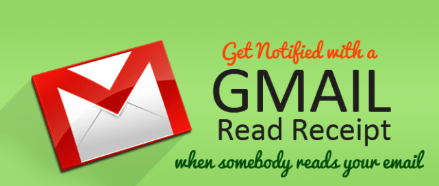 gmail read receipt and email tracking