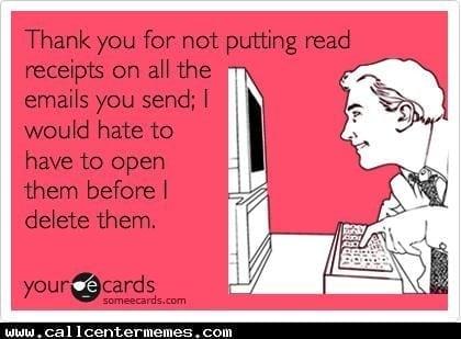 request read receipt gmail