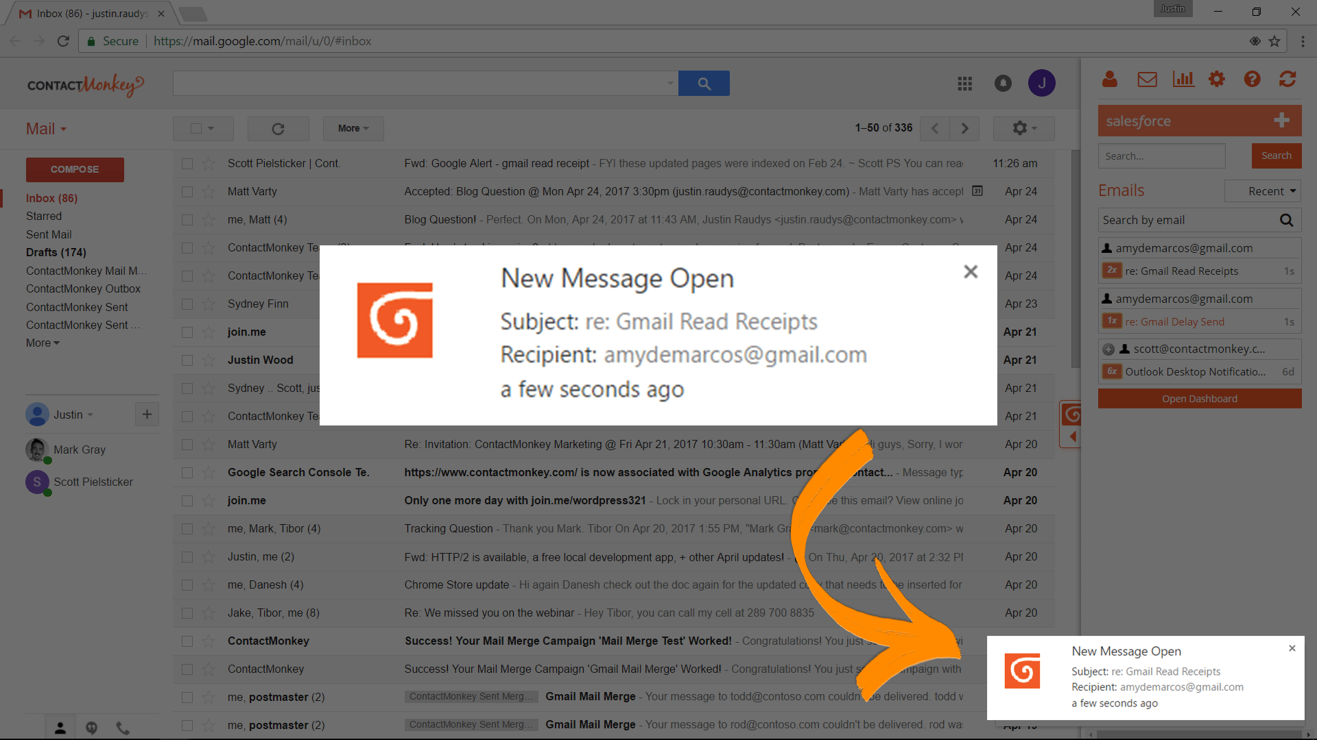 gmail read receipt and email tracking how to know when your sales