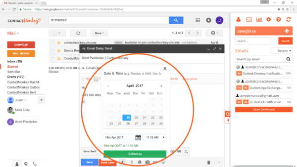 how to send and receive email in gmail