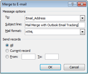 can you mass email from outlook