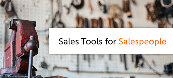 Sales Tools for Salespeople