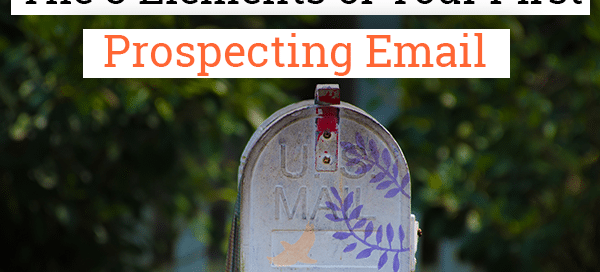 prospecting e-mail