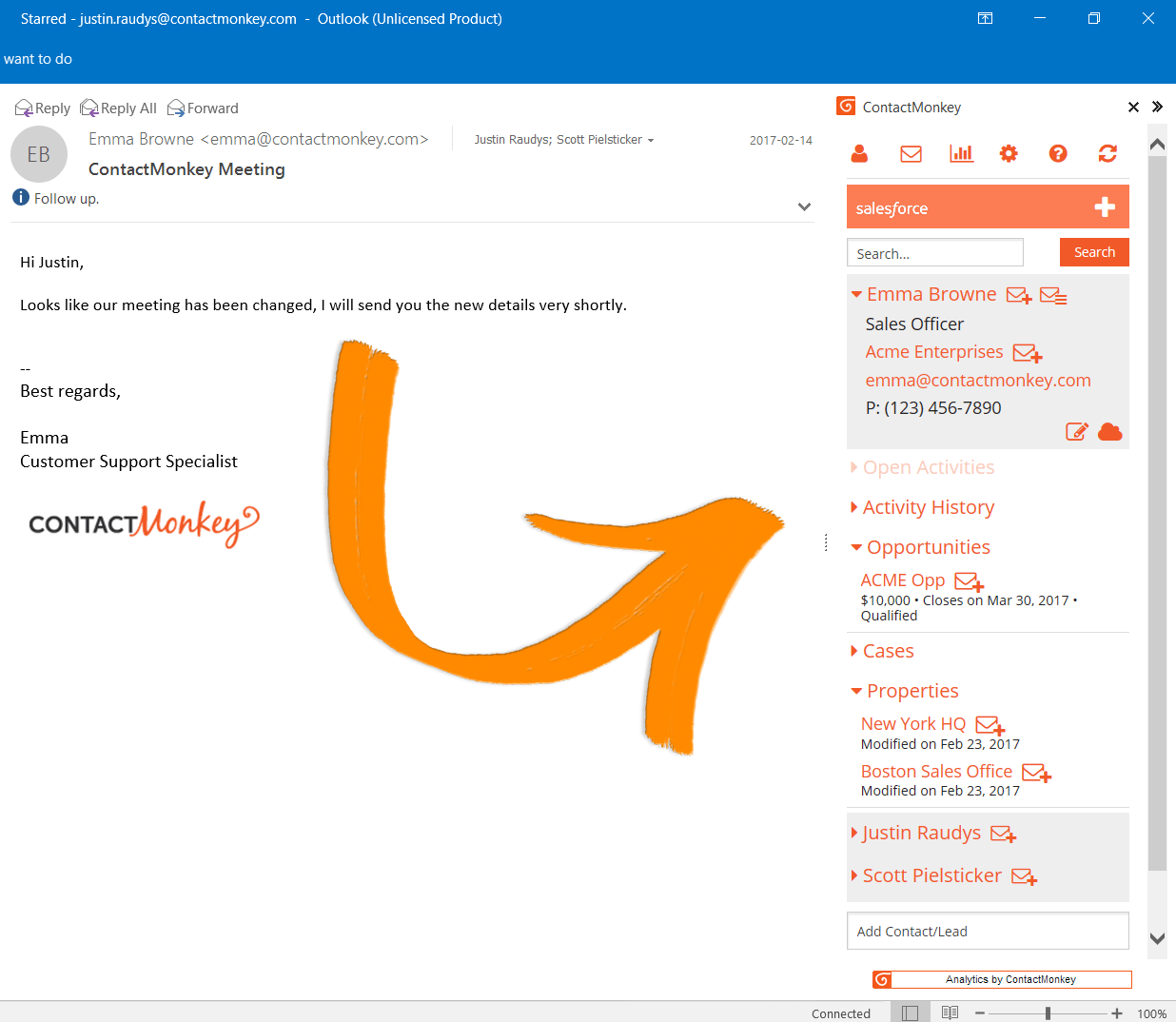 mass email in outlook