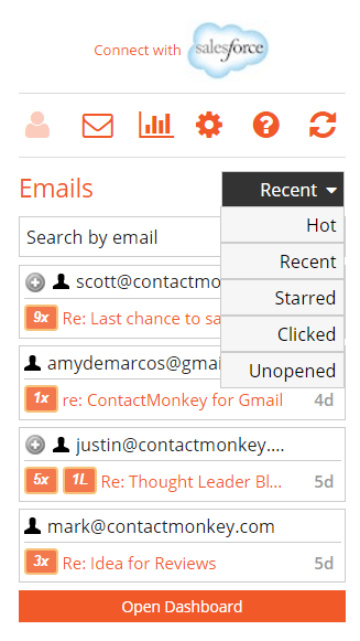 email tracking for outlook
