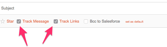 prospect gmail tracking