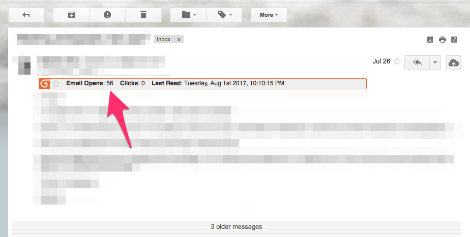 read notification can emails be traced