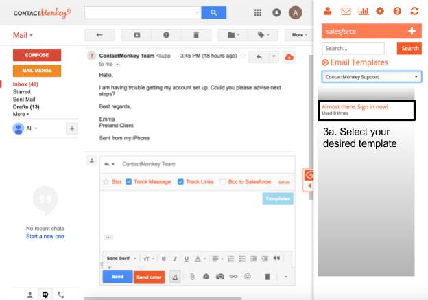 Salesforce Email Templates In Gmail Side Panel 2018