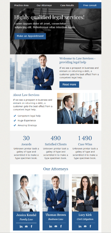 Free Responsive Email Templates by Stripo