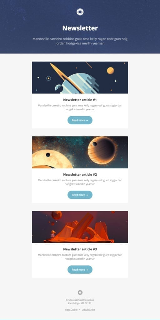 free responsive email templates by litmus - Free Responsive Email Templates