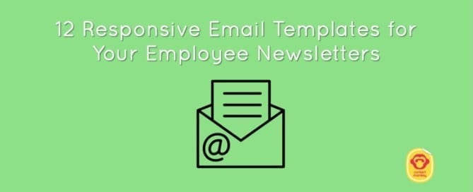 responsive email templates for employee newsletters