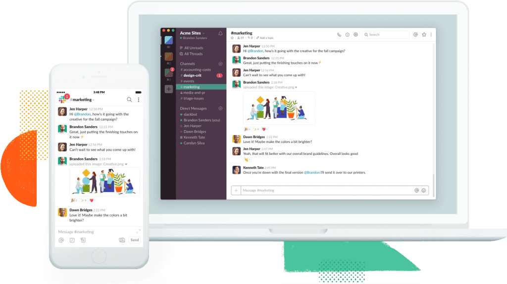 Slack for Internal Communications