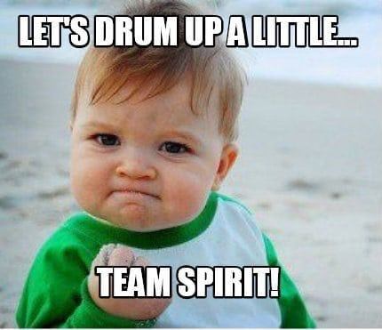 Employee satisfaction through team spirit