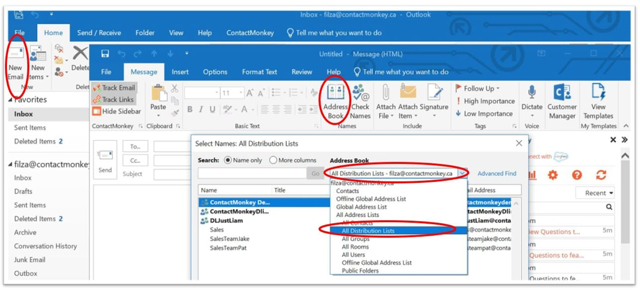outlook distribution list  how to create  u0026 track mass personalized emails