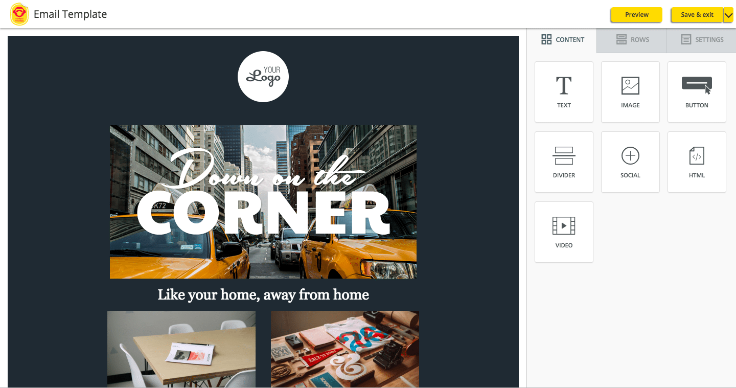 ContactMonkey Email Template Builder
