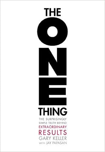 he one thing-communication-books