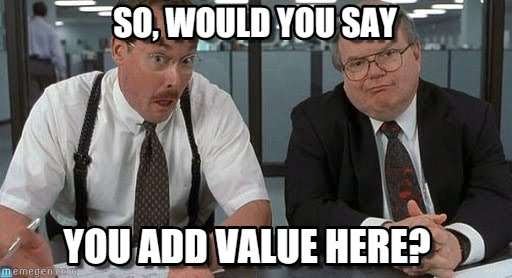 value for sales team