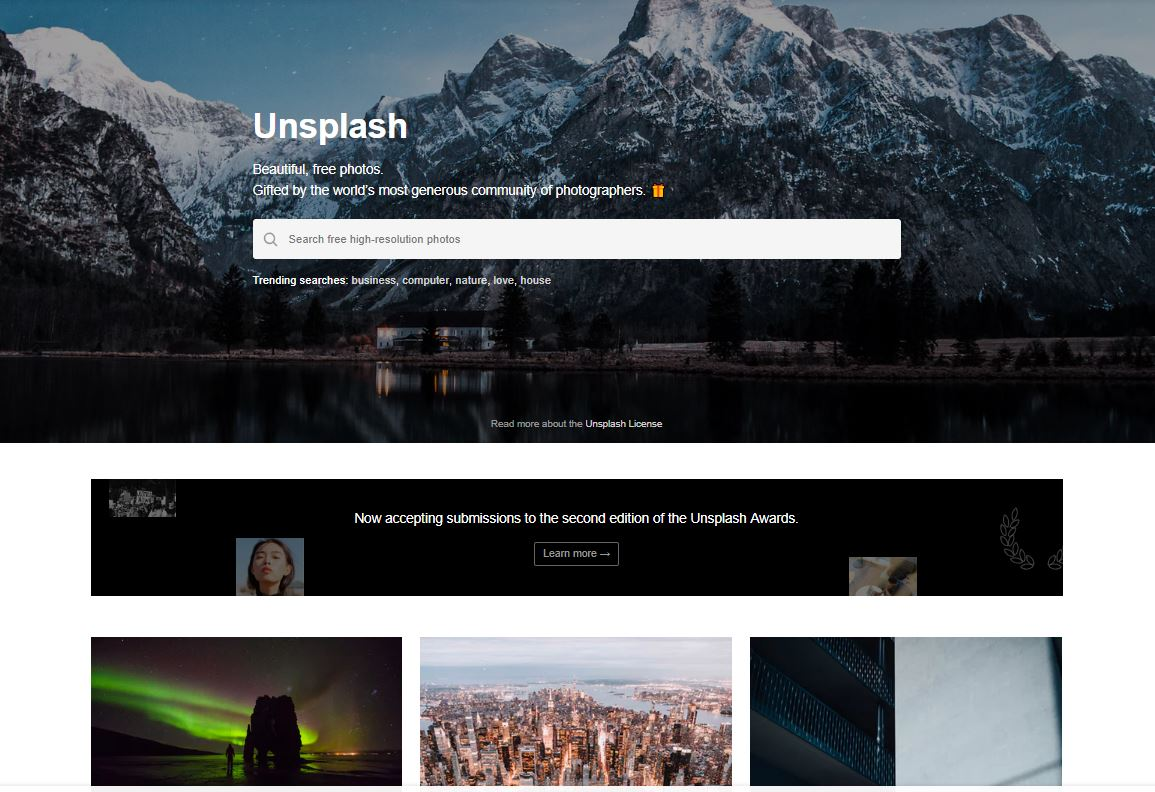 Unsplash-design tools