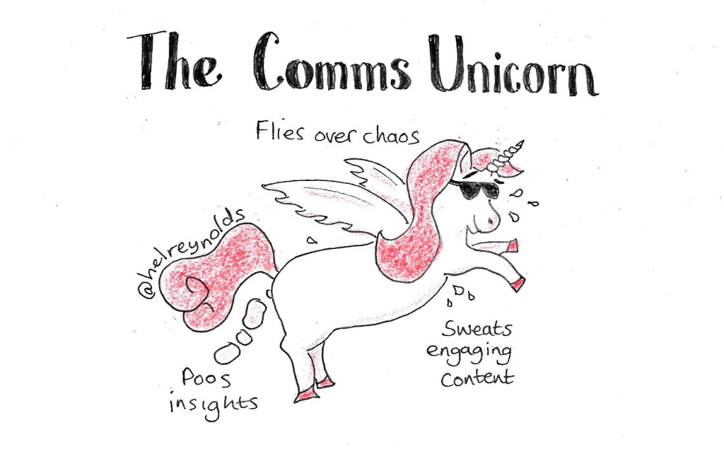 role of internal communication - comms cartoon
