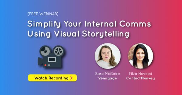 visualstorytelling to improve internal communications
