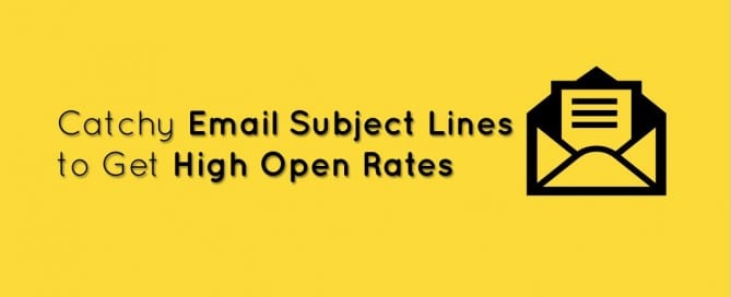Catchy Email Subject Lines-EmailMonks