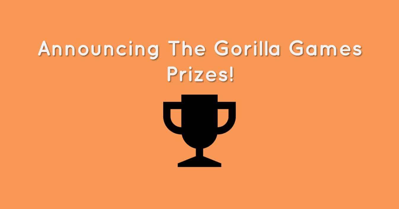 Gorilla Games Prizes