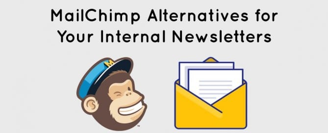 Mailchimp alternatives for employee newsletter