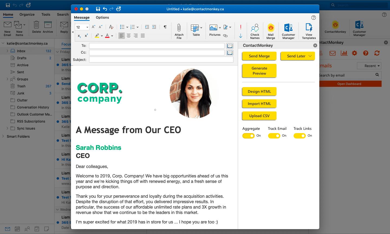 Office 365 Internal Comms