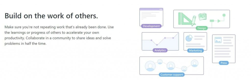 Yammer for team communication