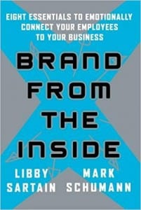 brand from the inside-communication books
