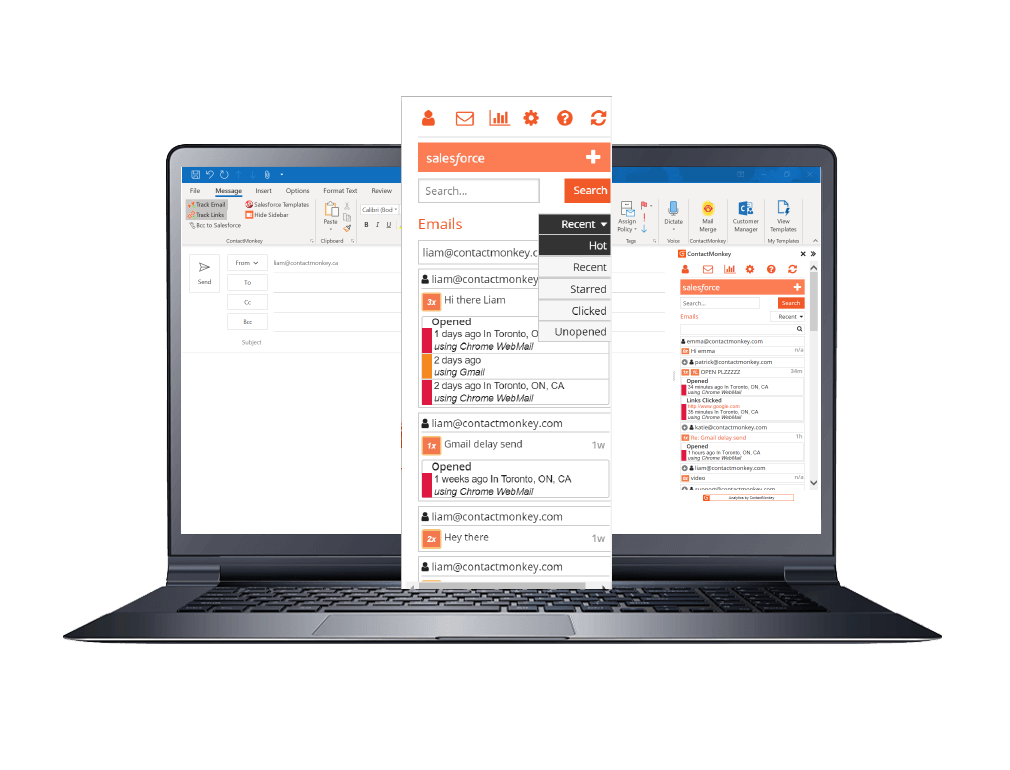 hot leads outlook inbox