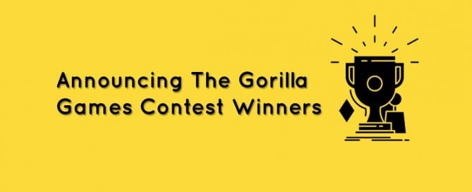 press release for Gorilla Games winners