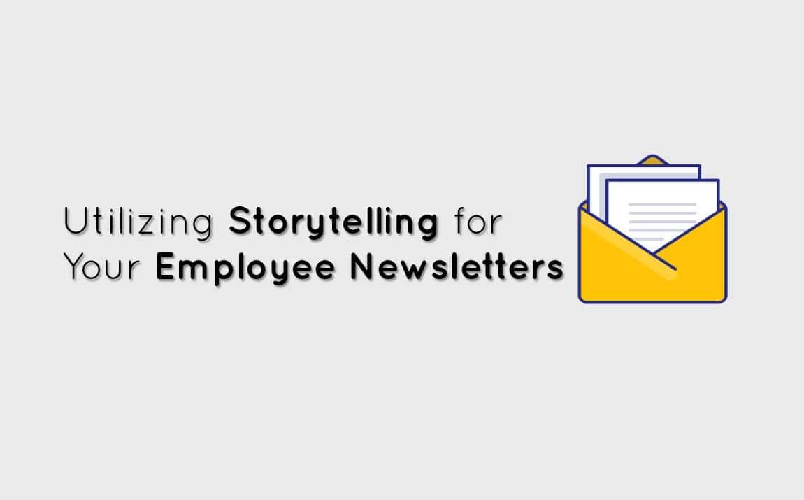 employee newsletters for internal comms storytelling