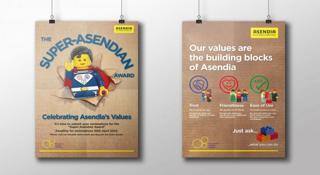 Asendia award and corporate values