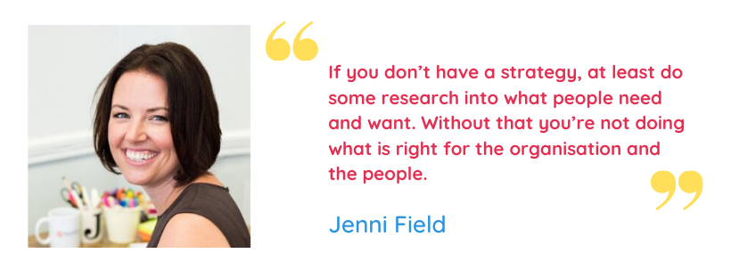 Jenni Field Quote