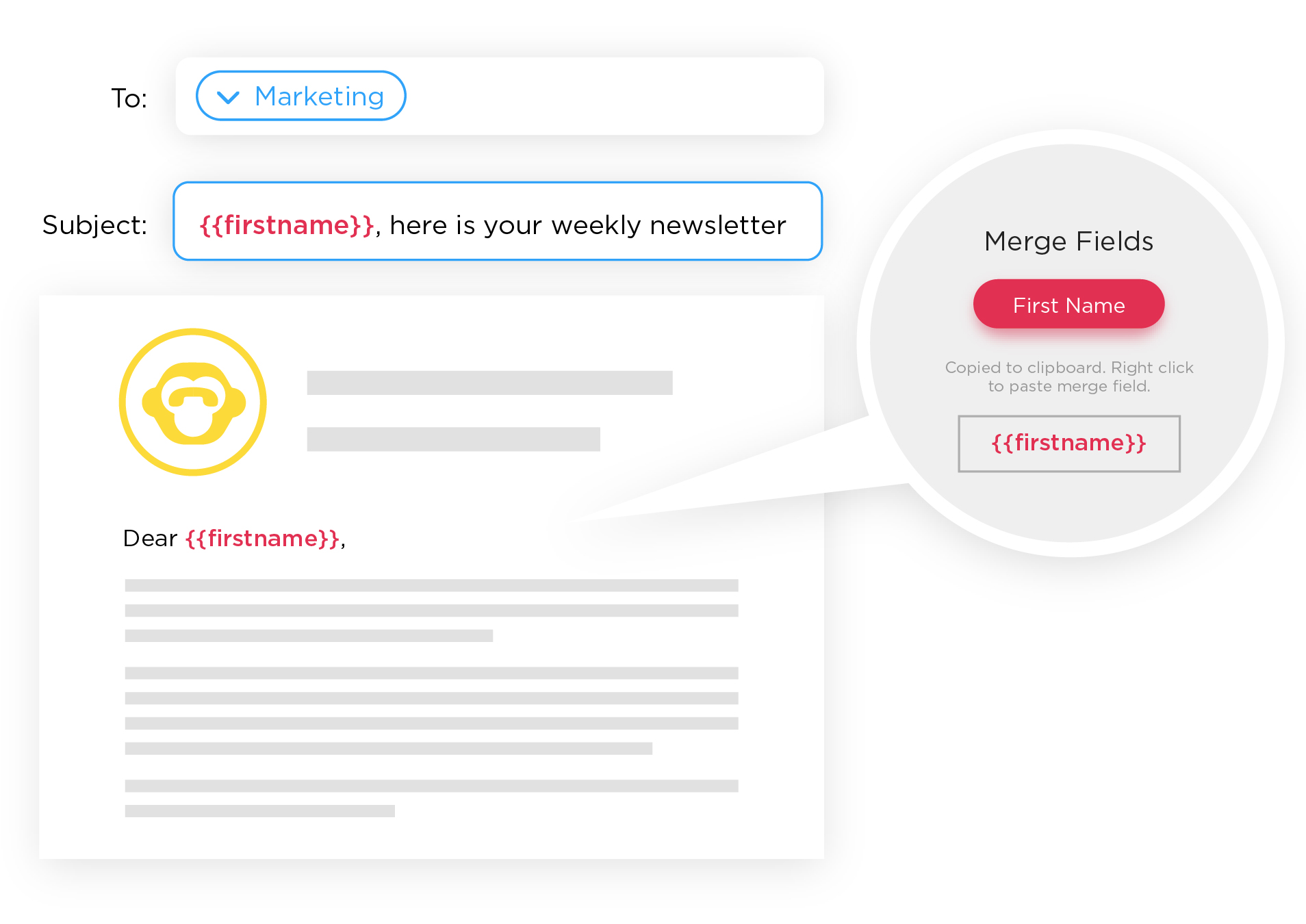personalize employee newsletters