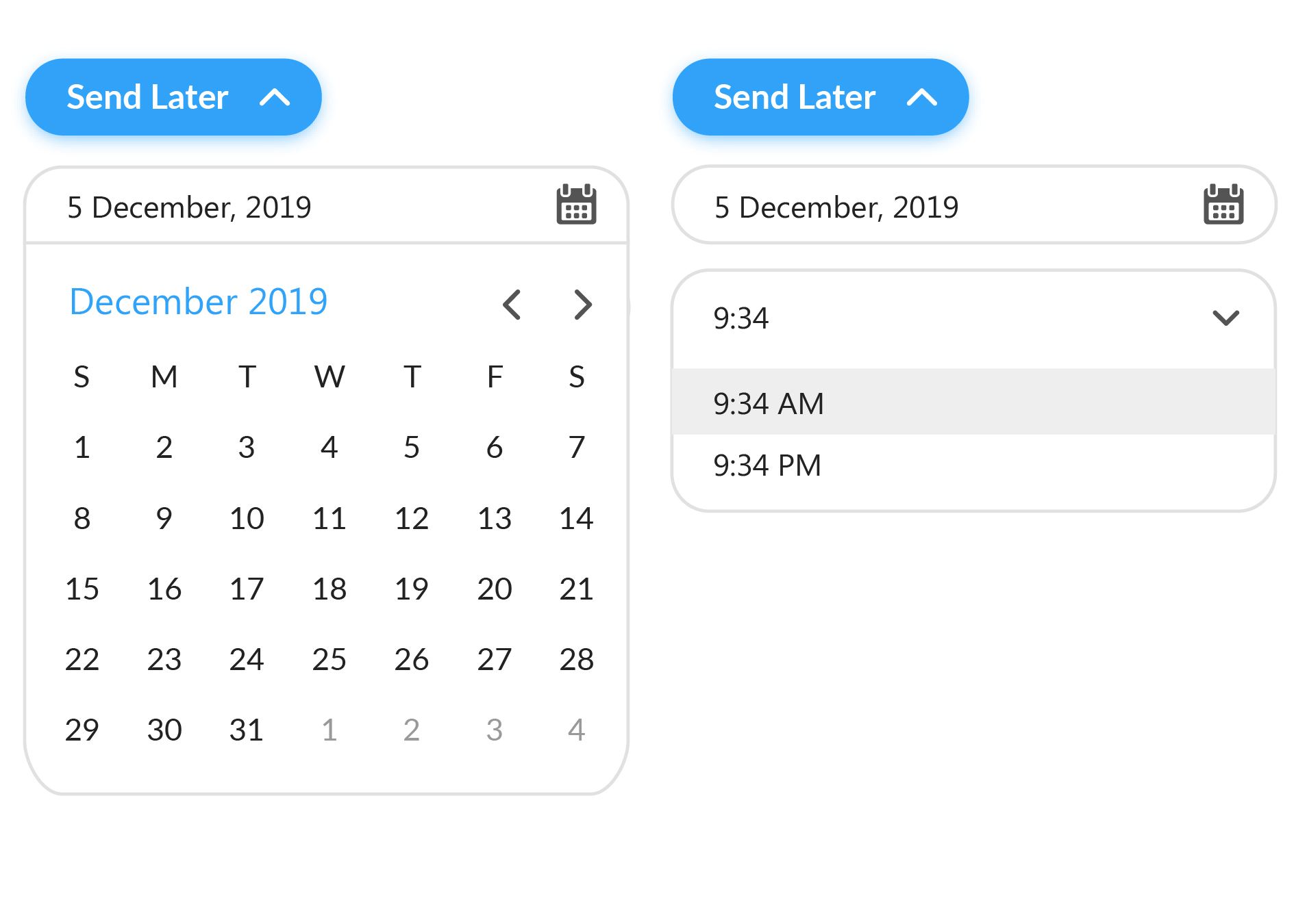 schedule employee email